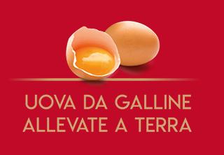 solo uova allevate a terra