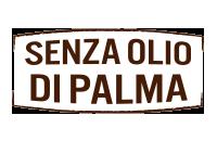 senza olio di palma - no palm oil