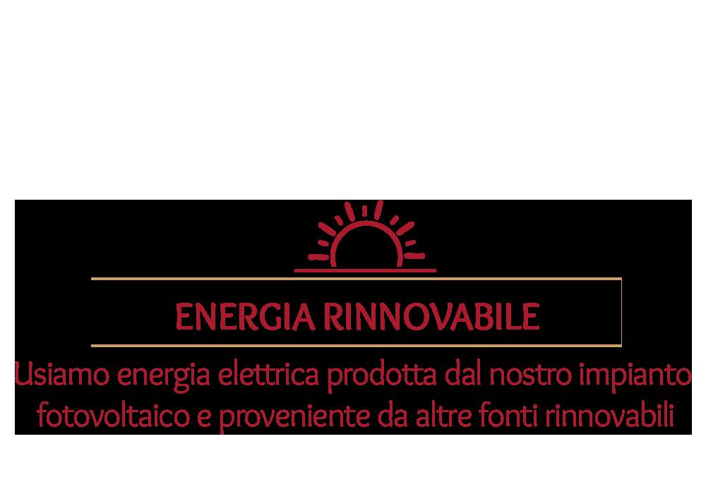 stabilimento che usa energia rinnovabile