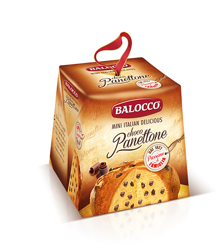 preview Mini Panettone with chocolate chips