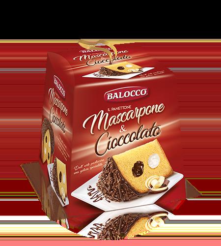 preview Mascarpone & Chocolate Panettone