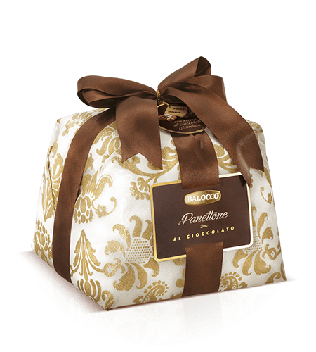preview Balocco Oro Wrapped Chocolate Panettone