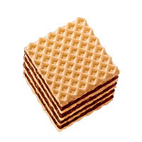 preview Wafers Hazelnut cubes