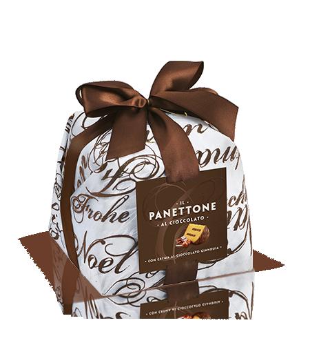 preview Il Panettone al cioccolato Incartato
