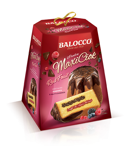 preview Pandoro MaxiCiok RED FRUIT