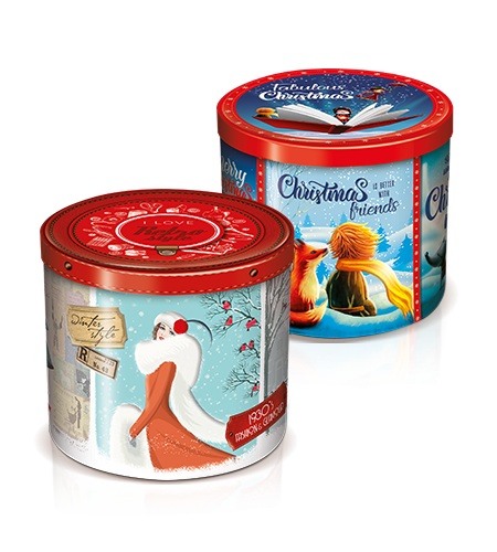 preview Pandoro in tin box