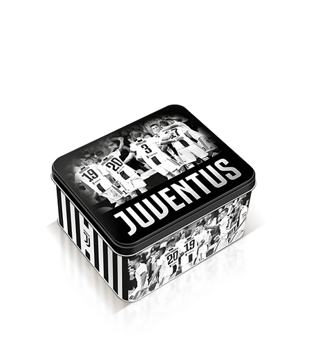 preview Colomba with chocolate chips in Juventus tin