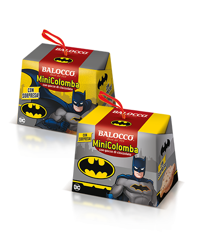 preview Mini Colomba Batman with Chocolate Chips