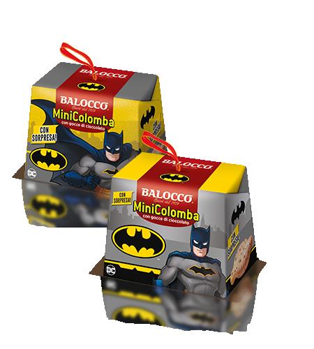preview Mini Colomba Gocce Batman