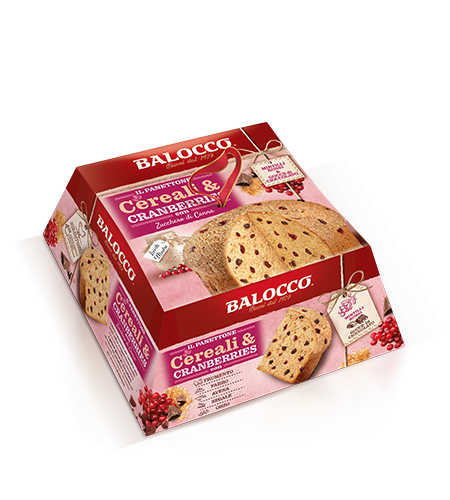 preview Panettone Cereali & Cranberries