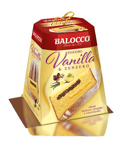 preview Pandoro Vanilla e Zenzero