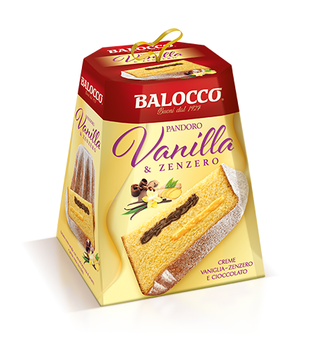 preview Pandoro with Vanilla and Ginger