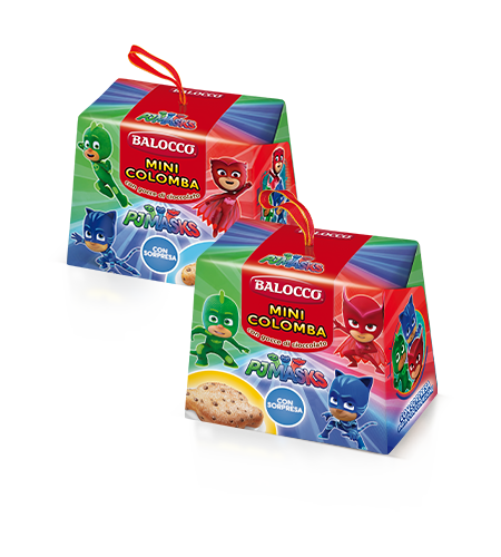 preview Mini Colomba Pj Masks with Chocolate Chips