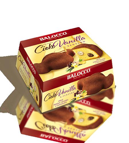 preview Colomba Cioko Vanilla & Zenzero